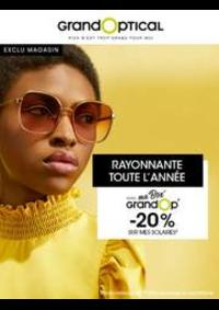 Prospectus Grand Optical Paris 53 rue de Passy : Offress