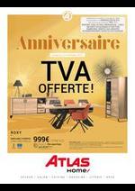Prospectus Atlas : Anniversaire TVA Offerte!