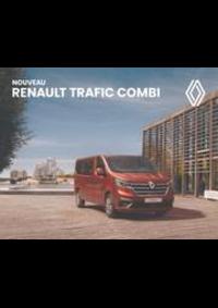 Prospectus Concession Renault RELAIS DE BRIE DES NATIONS : NOUVEAU RENAULT TRAFIC COMBI