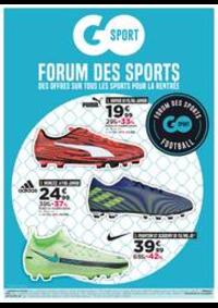 Prospectus Go Sport Paris Les Halles : Forum Des Sports
