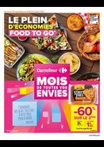 Prospectus Carrefour Drive : LE PLEIN D'ECONOMIES FOOD TO GO