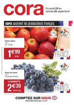Prospectus Cora : Catalogue Cora