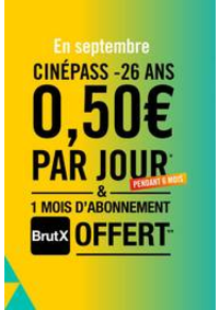 Prospectus Gaumont Pathé! Paris : CinéPass