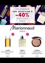 Prospectus Marionnaud : UNE SÉLECTION Á -40%