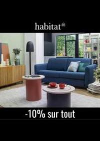 Prospectus Habitat Paris Aeroville - Roissy Charles de Gaulle  : Habitat Canapés et fauteuils -10% sur tout