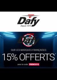Prospectus DAFY MOTO ARCHAMPS : Les French Days