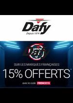 Prospectus Dafy moto : Les French Days