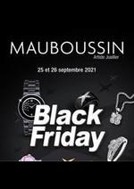 Prospectus MAUBOUSSIN : Black Friday