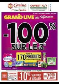 Prospectus Supermarchés Casino PARIS : Le grand live des marques