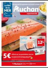 Prospectus Auchan Val d'Europe Marne-la-Vallée : La fête de la mer