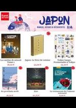 Prospectus Furet du Nord : Opération Japon - Mangas, lectures et art de vivre