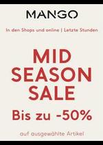 Prospectus MANGO : Mid Season Sale