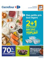 Prospectus Carrefour : Des petits prix tout légers !