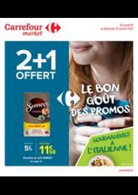 Promos et remises Carrefour Market THONON LES BAINS  : La bon goût des promos !