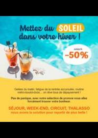 Promos et remises Prêt à partir Thonon-Les-Bains : Vos vacances d'hiver jusqu'à -40%