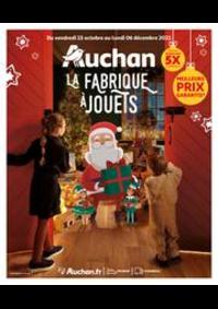 Prospectus Auchan BESSONCOURT : La fabrique à jouets!