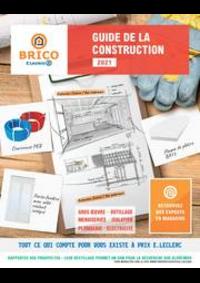 Prospectus E.Leclerc CERNAY : GUIDE DE LA CONSTRUCTION 2021
