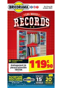 Prospectus Bricorama BONDY : Catalogue Bricorama