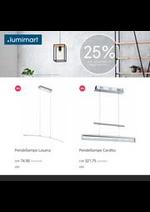 Prospectus Lumimart : 25% auf Eglo online!
