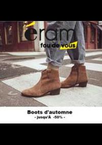 Prospectus Eram PARIS : Boots d'Automne l Jusqu'à -50%