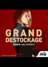 Prospectus Dafy Moto Paris Voltaire : GRand Destockage