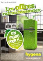 Votre frigo pour 1€ de plus - Hygena