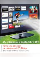 TV led Philips Jusqu'à 500€ remboursés - Connexion